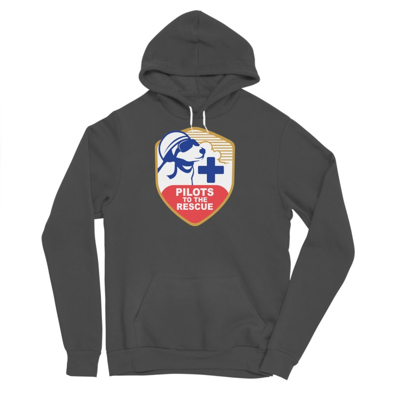 Pilots to the Rescue Men's Sponge Fleece Pullover Hoody by PilotsToTheRescue's Artist Shop