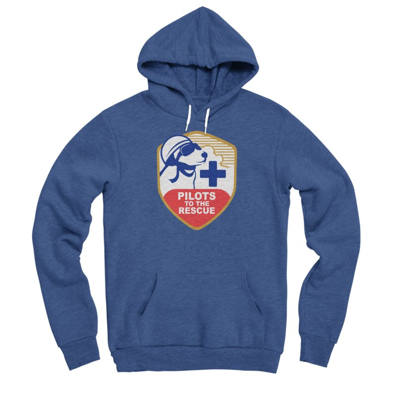 Pilots to the Rescue Women's Sponge Fleece Pullover Hoody by PilotsToTheRescue's Artist Shop
