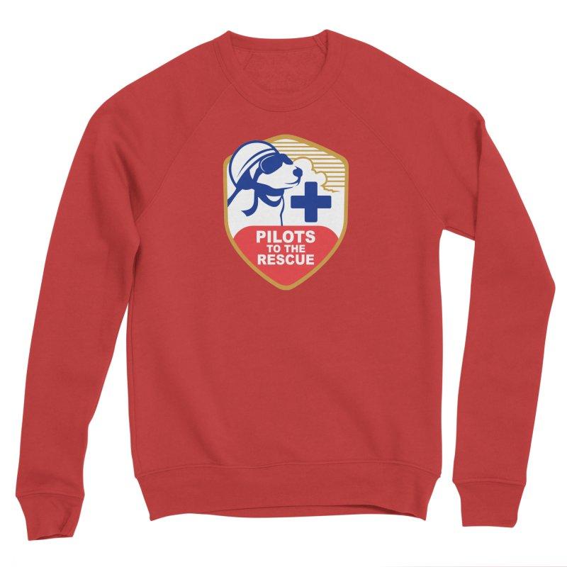Pilots to the Rescue Men's Sponge Fleece Sweatshirt by PilotsToTheRescue's Artist Shop