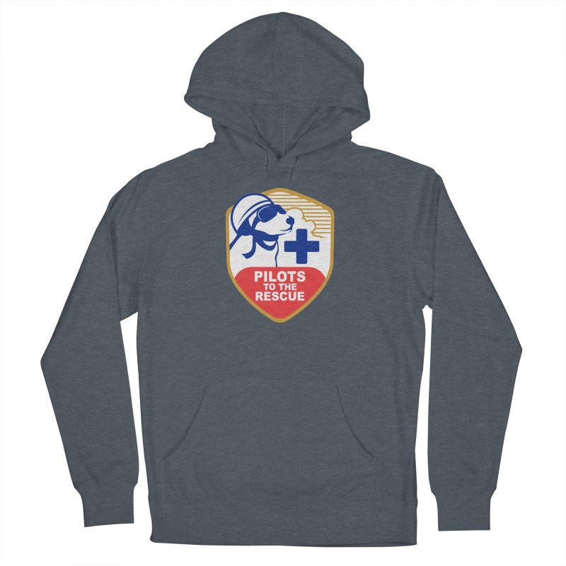 Pilots to the Rescue Women's French Terry Pullover Hoody by PilotsToTheRescue's Artist Shop