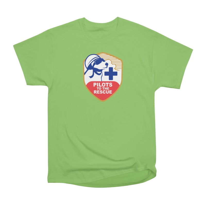 Pilots to the Rescue Men's Heavyweight T-Shirt by PilotsToTheRescue's Artist Shop