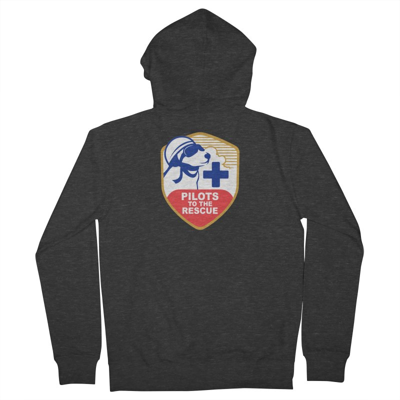 Pilots to the Rescue Women's French Terry Zip-Up Hoody by PilotsToTheRescue's Artist Shop