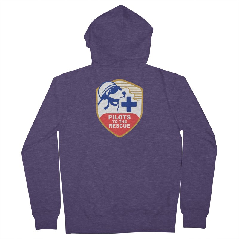 Pilots to the Rescue Men's French Terry Zip-Up Hoody by PilotsToTheRescue's Artist Shop