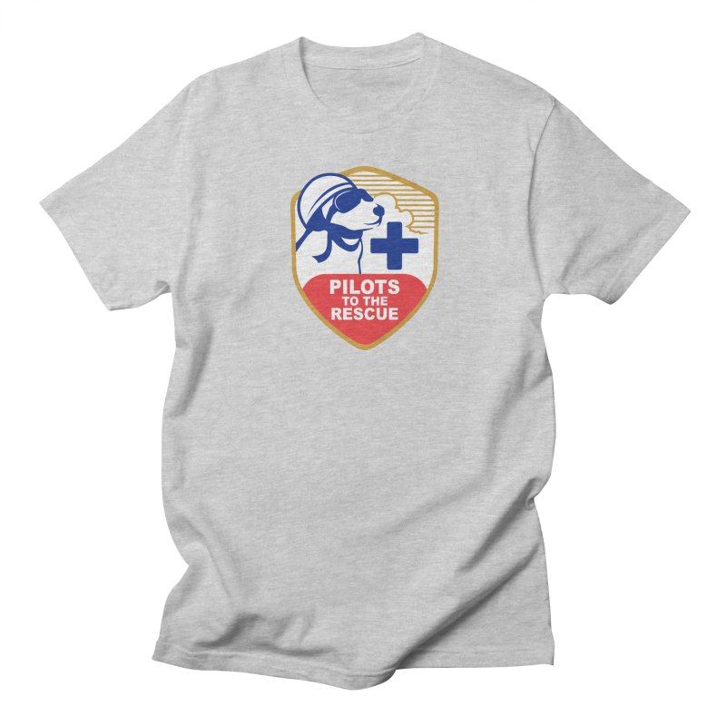 Pilots to the Rescue Men's Regular T-Shirt by PilotsToTheRescue's Artist Shop