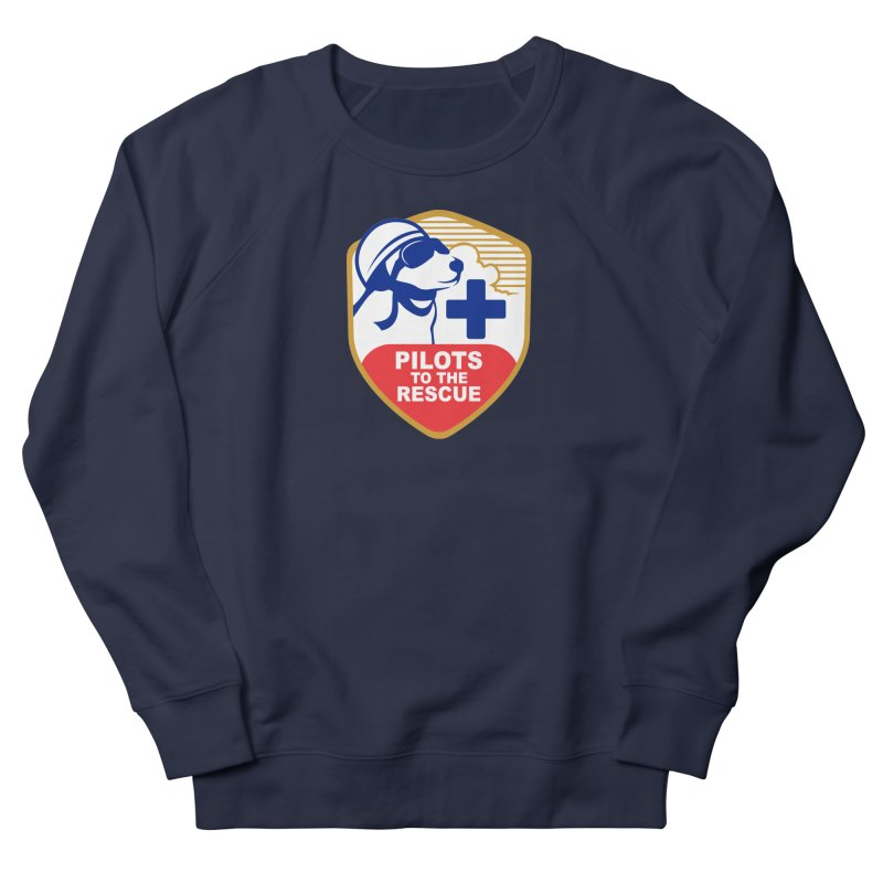 Pilots to the Rescue Women's French Terry Sweatshirt by PilotsToTheRescue's Artist Shop