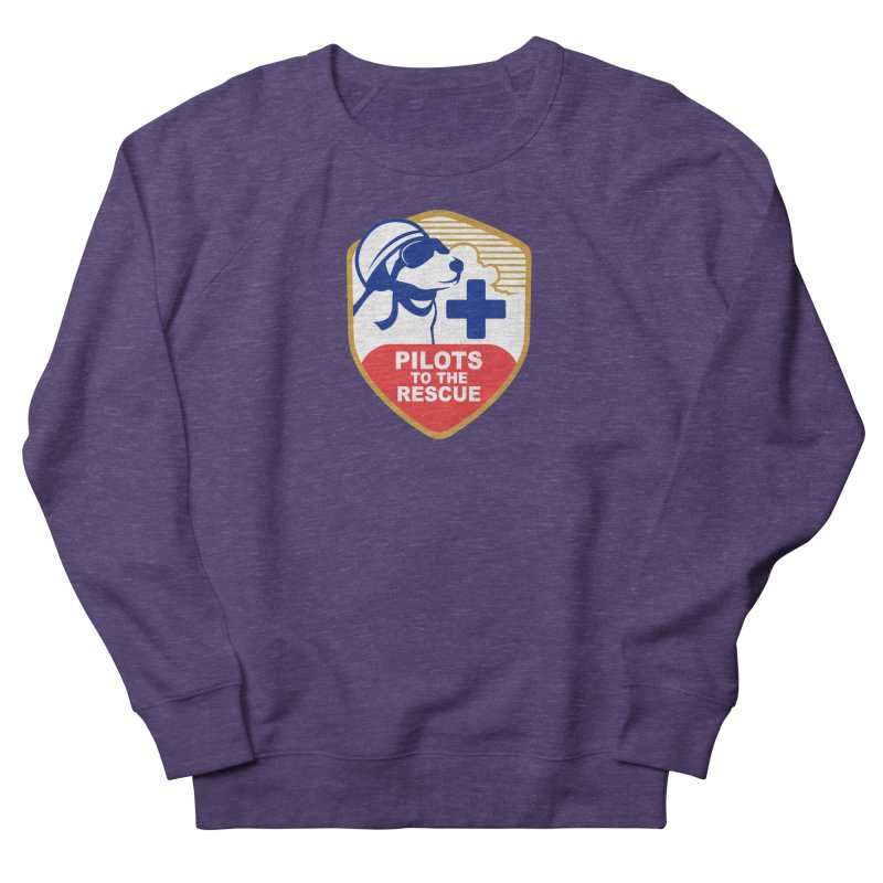 Pilots to the Rescue Men's French Terry Sweatshirt by PilotsToTheRescue's Artist Shop