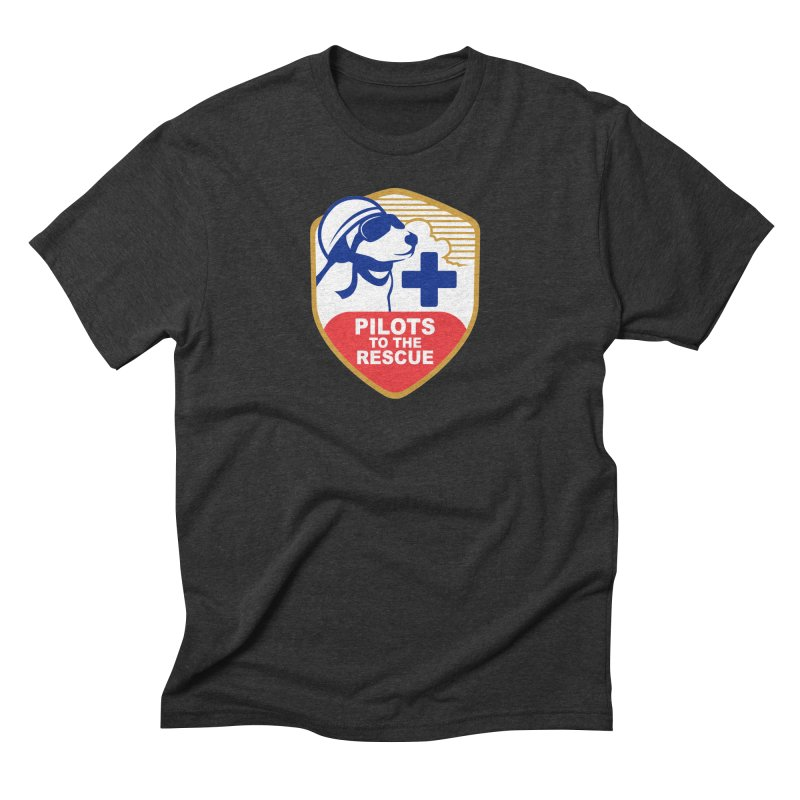 Pilots to the Rescue Men's Triblend T-Shirt by PilotsToTheRescue's Artist Shop