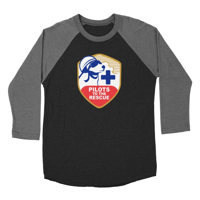 Pilots to the Rescue Women's Baseball Triblend Longsleeve T-Shirt by PilotsToTheRescue's Artist Shop