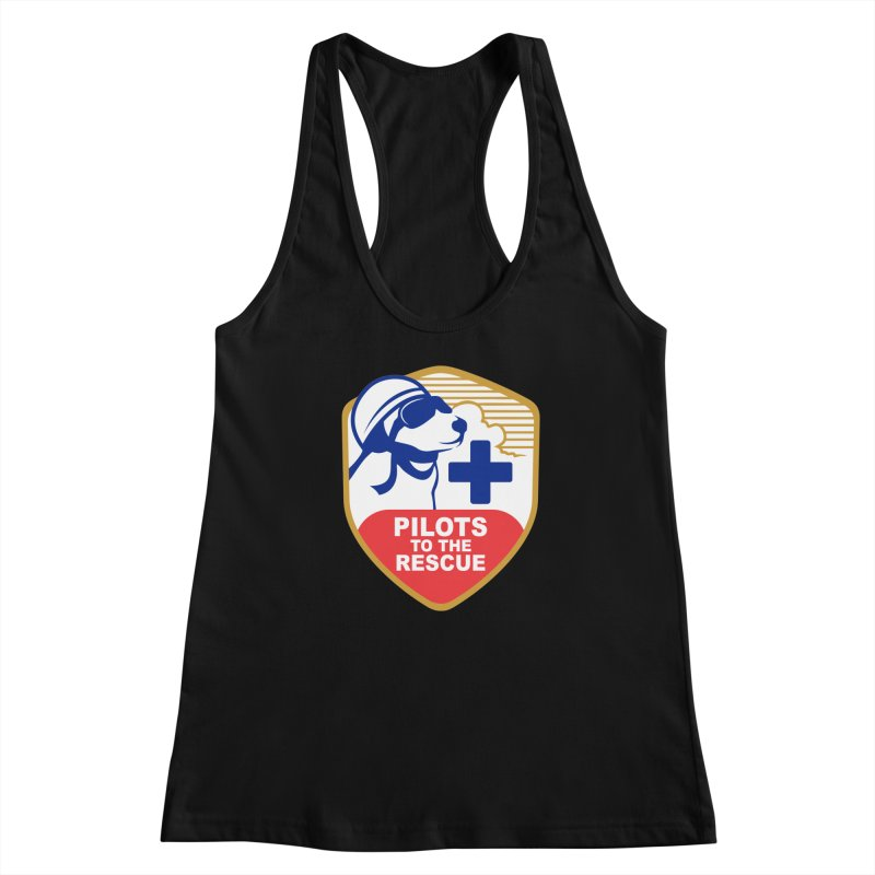 Pilots to the Rescue Women's Racerback Tank by PilotsToTheRescue's Artist Shop