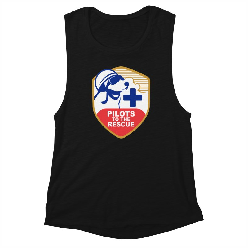 Pilots to the Rescue Women's Muscle Tank by PilotsToTheRescue's Artist Shop