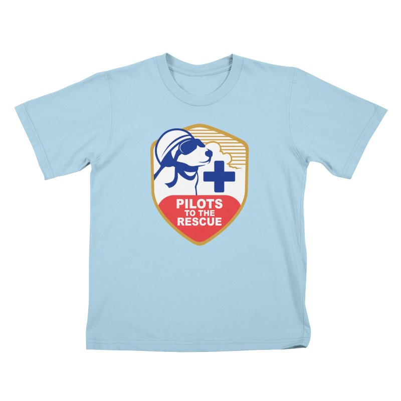 Pilots to the Rescue Kids T-Shirt by PilotsToTheRescue's Artist Shop