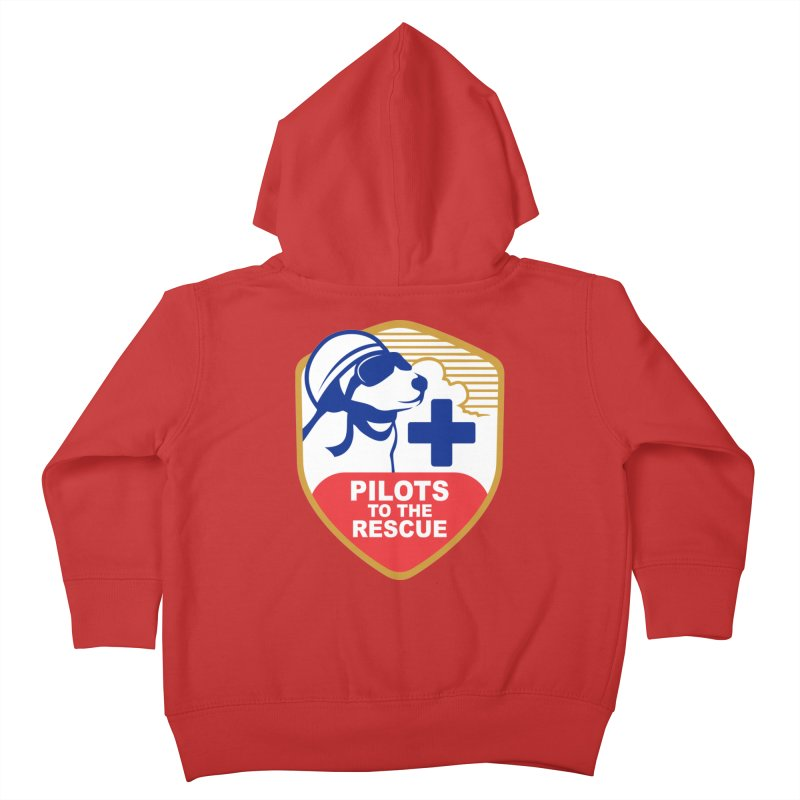 Pilots to the Rescue Kids Toddler Zip-Up Hoody by PilotsToTheRescue's Artist Shop