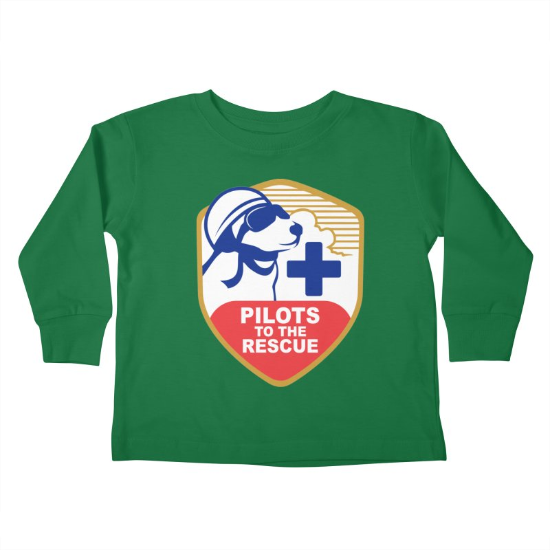 Pilots to the Rescue Kids Toddler Longsleeve T-Shirt by PilotsToTheRescue's Artist Shop