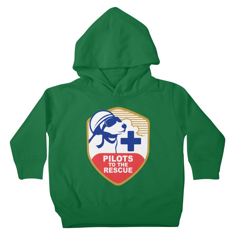 Pilots to the Rescue Kids Toddler Pullover Hoody by PilotsToTheRescue's Artist Shop