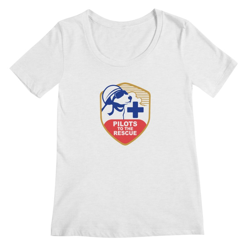 Pilots to the Rescue Women's Regular Scoop Neck by PilotsToTheRescue's Artist Shop