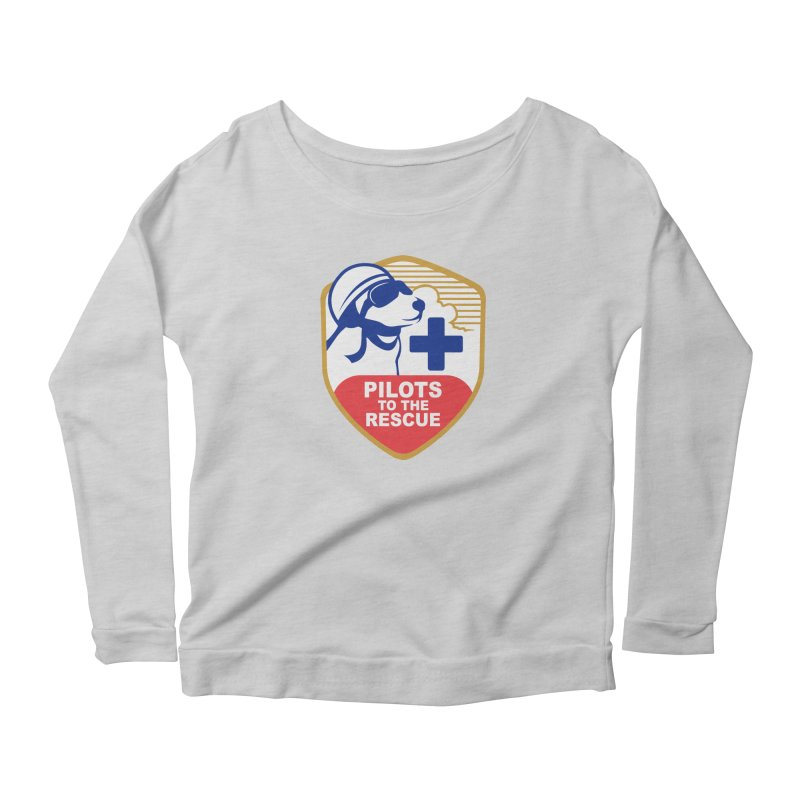 Pilots to the Rescue Women's Scoop Neck Longsleeve T-Shirt by PilotsToTheRescue's Artist Shop