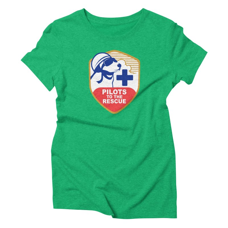 Pilots to the Rescue Women's Triblend T-Shirt by PilotsToTheRescue's Artist Shop