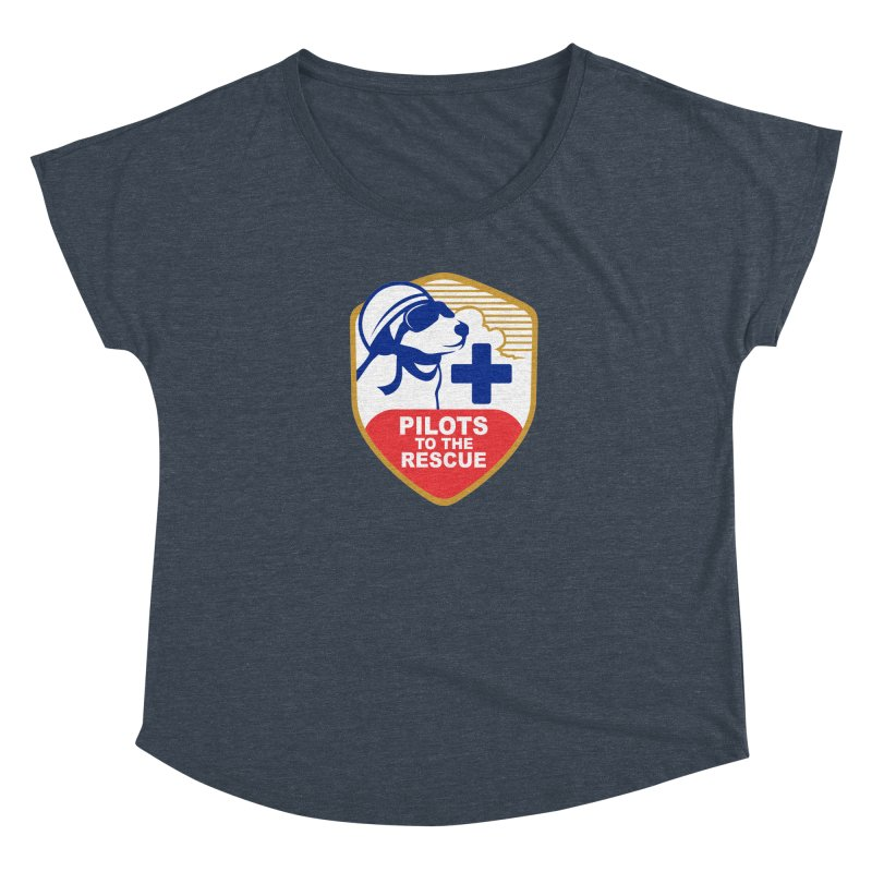 Pilots to the Rescue Women's Scoop Neck by PilotsToTheRescue's Artist Shop