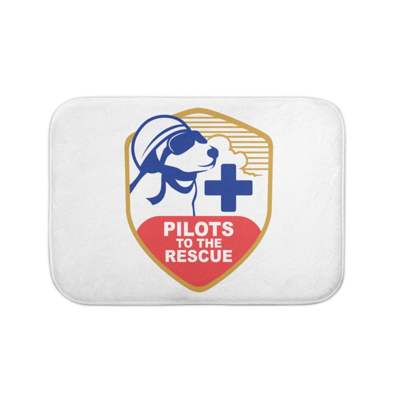 Pilots to the Rescue Home Bath Mat by PilotsToTheRescue's Artist Shop