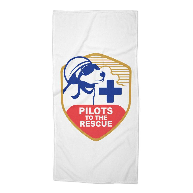 Pilots to the Rescue Accessories Beach Towel by PilotsToTheRescue's Artist Shop