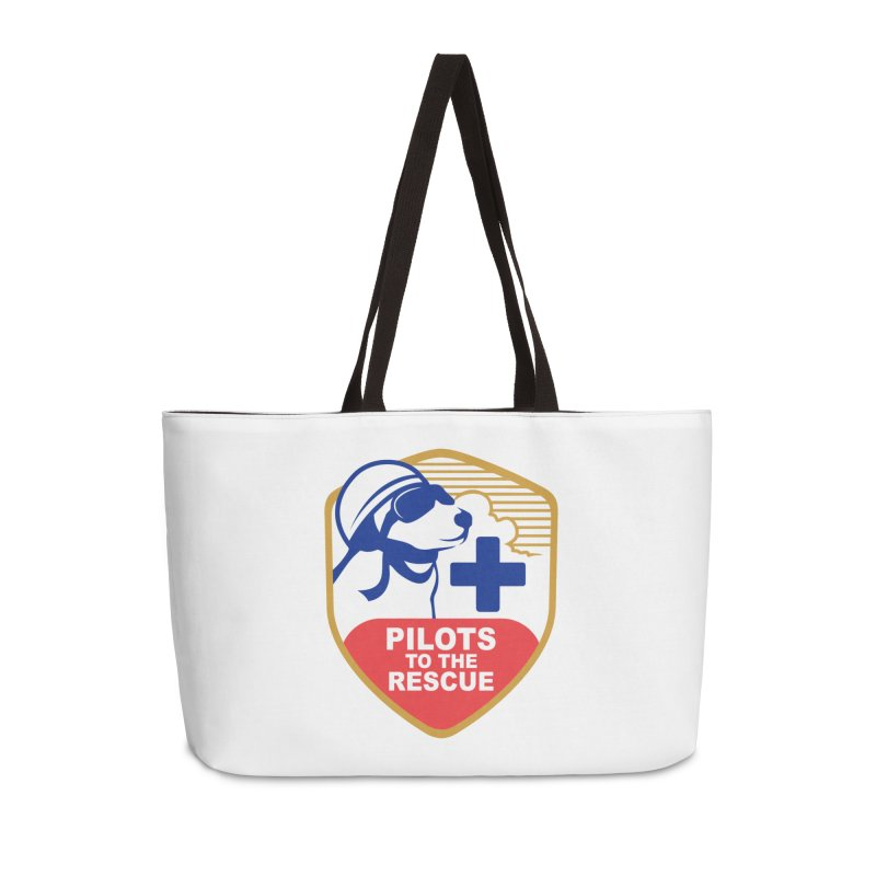 Pilots to the Rescue Accessories Weekender Bag Bag by PilotsToTheRescue's Artist Shop