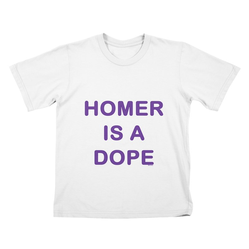 Homer is a Dope Kids T-shirt by Pinata Riot