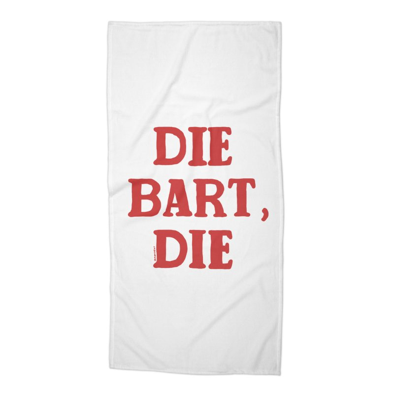 Thee Bart Thee Accessories Beach Towel by Pinata Riot