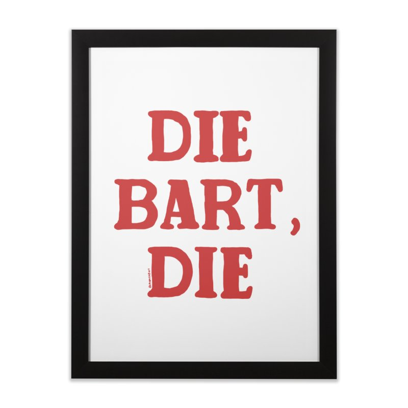 Thee Bart Thee Home Framed Fine Art Print by Pinata Riot