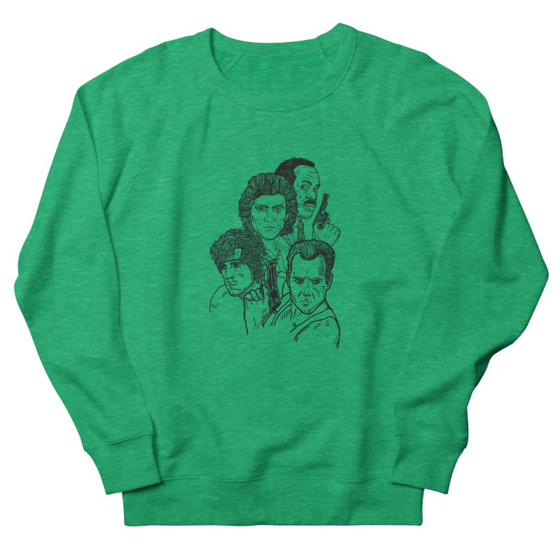 Kickass Christmas Men's Sweatshirt by Pinata Riot