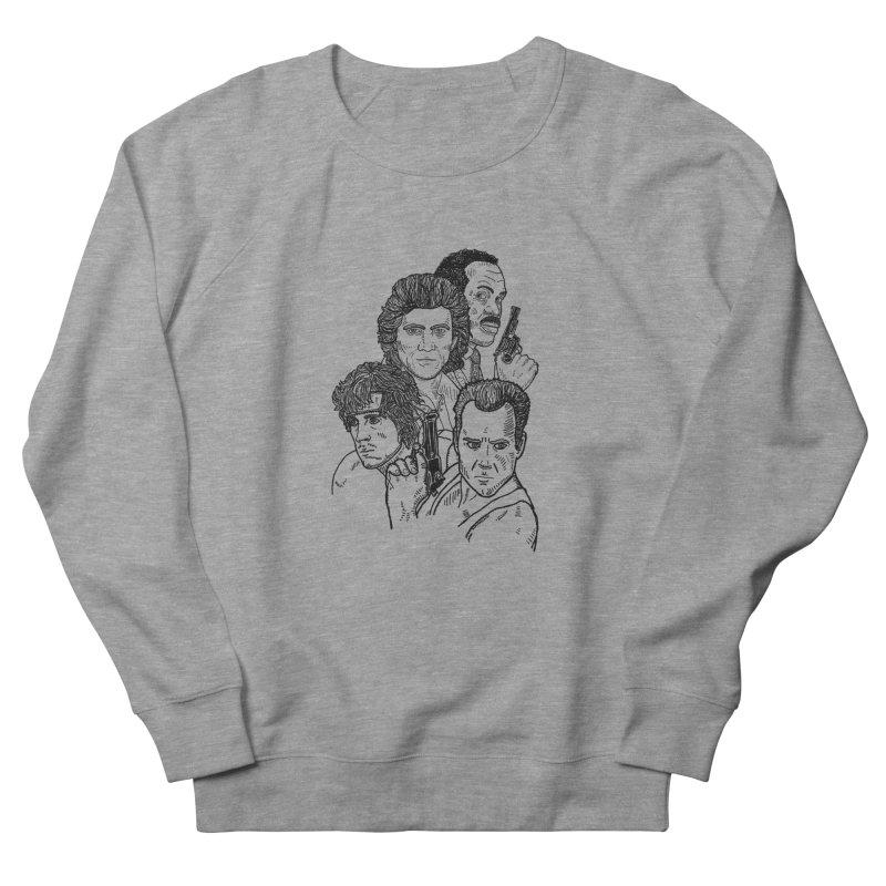 Kickass Christmas Men's Sweatshirt by Pinata Riot