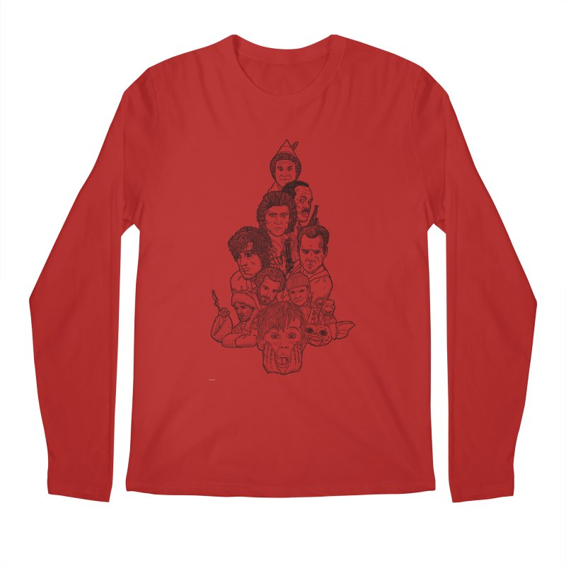 Hollywood Christmas Men's Longsleeve T-Shirt by Pinata Riot