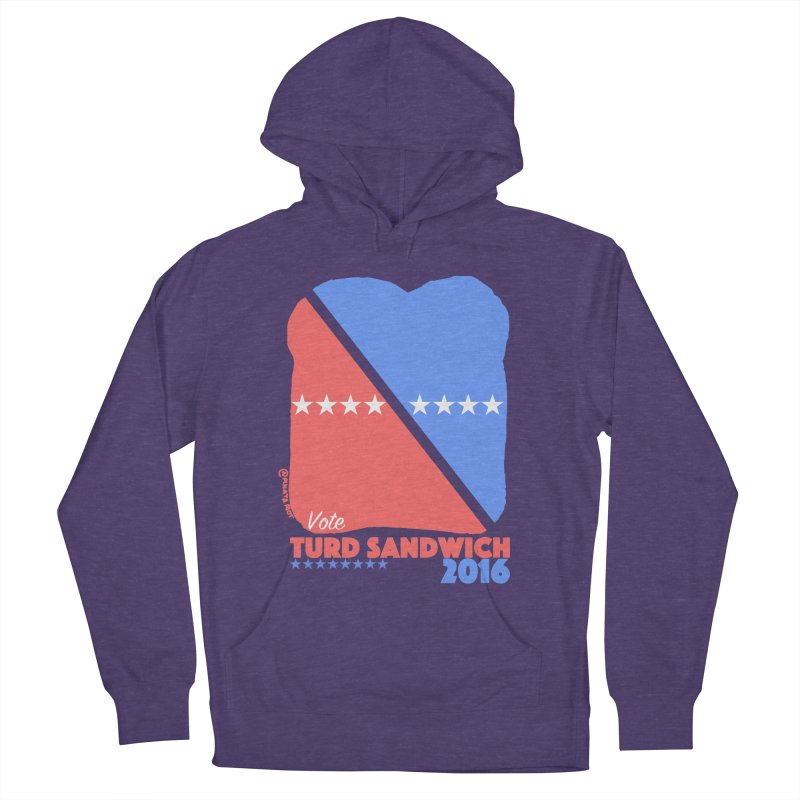 Vote Turd Sandwich 2016 Men's Pullover Hoody by Pinata Riot