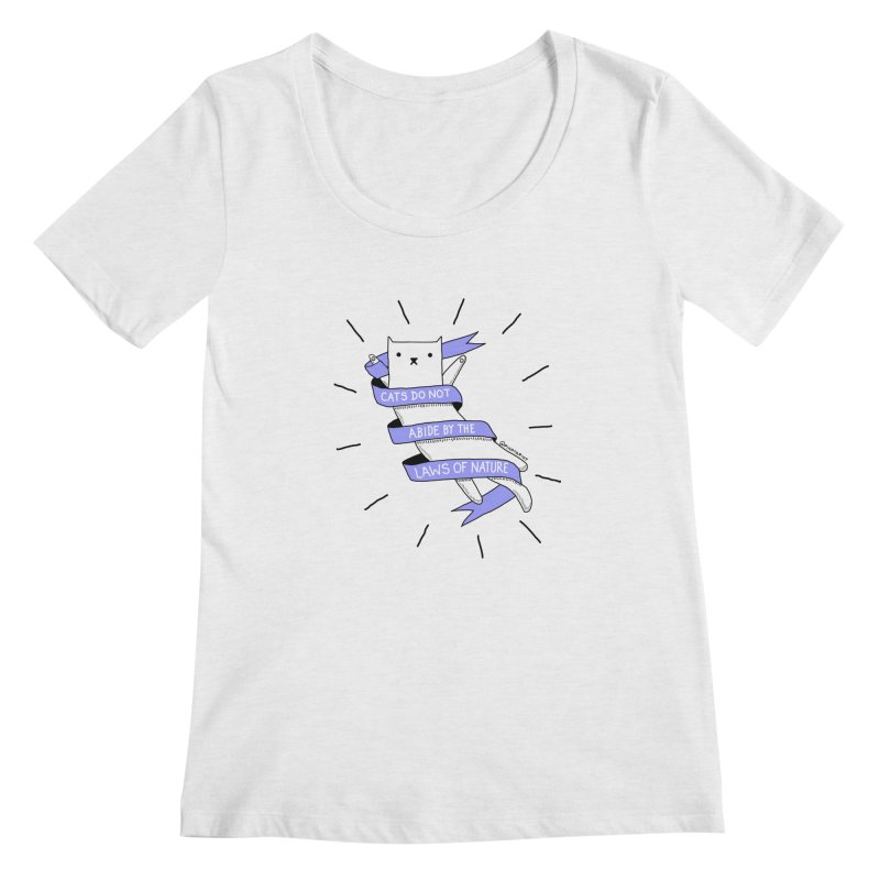 Laws of Nature Women's Scoopneck by Pinata Riot