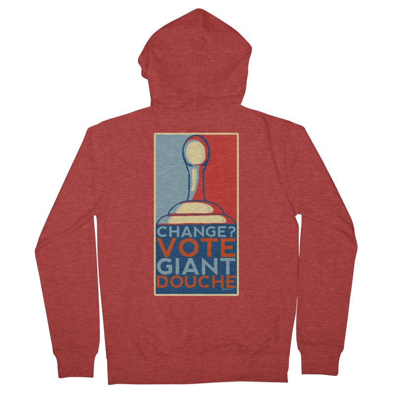 Vote Giant Douche 2016 Women's Zip-Up Hoody by Pinata Riot