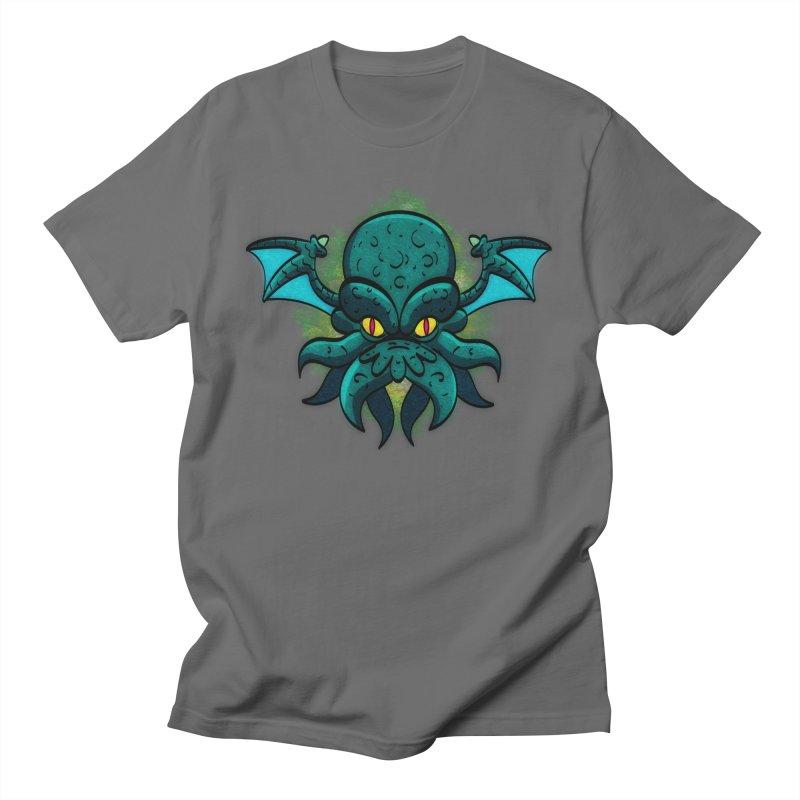 Cthulhu head! Men's T-Shirt by Pingolito's Artist Shop