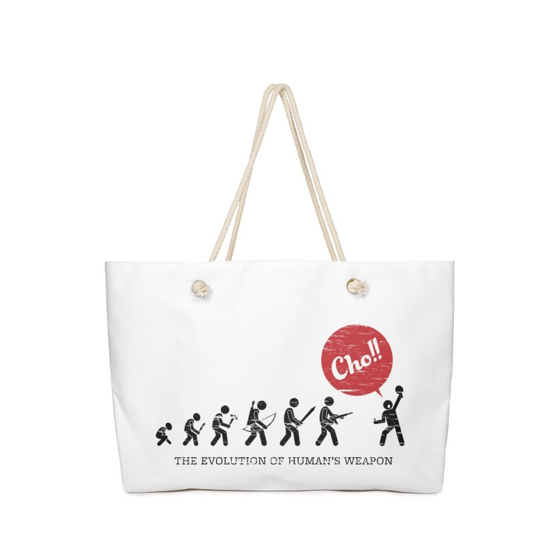 The Evolution of Human's Weapon Accessories Bag by PingSunday's Table Tennis Merchandise.