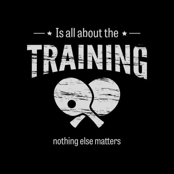 image for Is All About the Training
