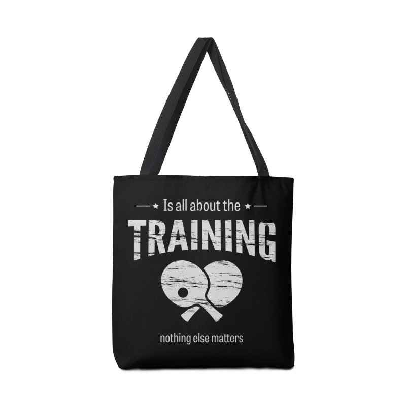 Is All About the Training Accessories Bag by PingSunday's Table Tennis Merchandise.