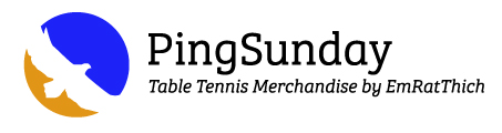 PingSunday's Table Tennis Merchandise. Logo