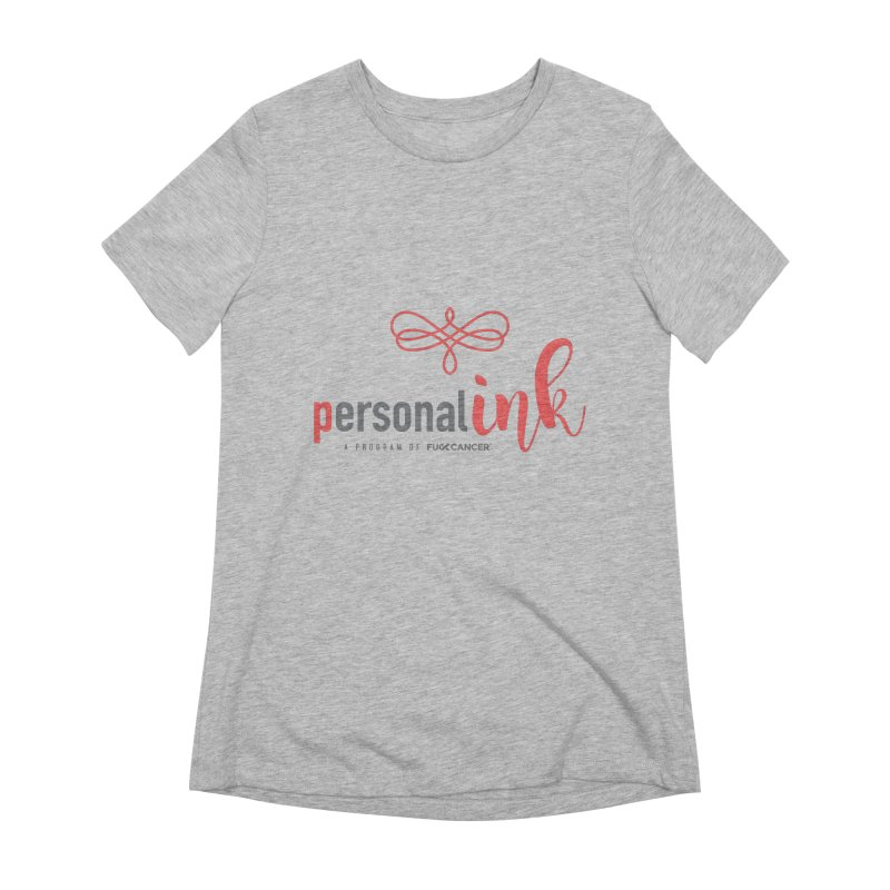 P.ink 2019 New Logo Women's Extra Soft T-Shirt by P.INK—don't let breast cancer leave the last mark