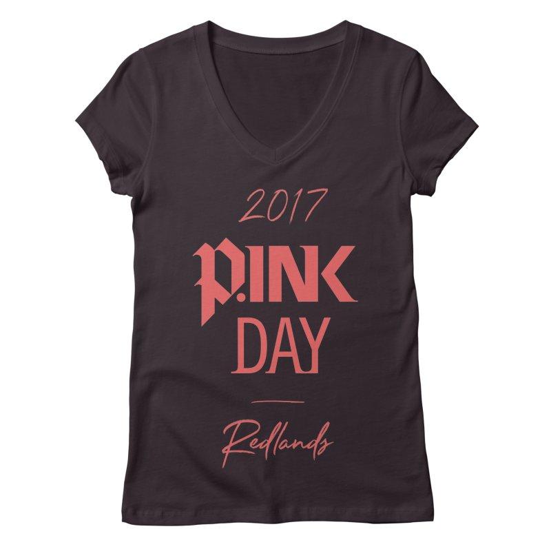 2017 P.ink Day Redlands Women's V-Neck by P.INK—don't let breast cancer leave the last mark