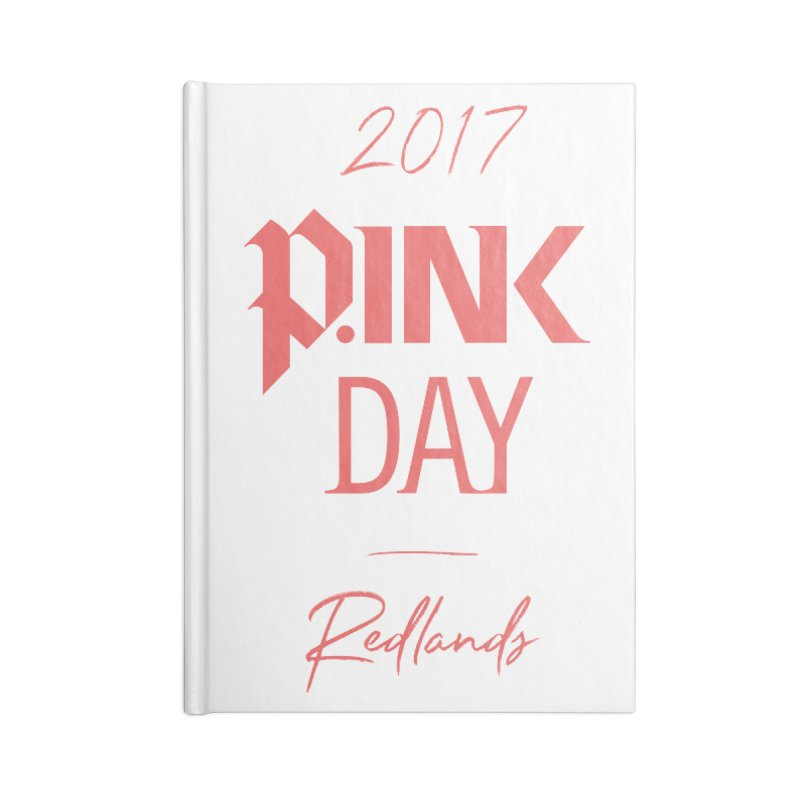 2017 P.ink Day Redlands Accessories Notebook by P.INK—don't let breast cancer leave the last mark