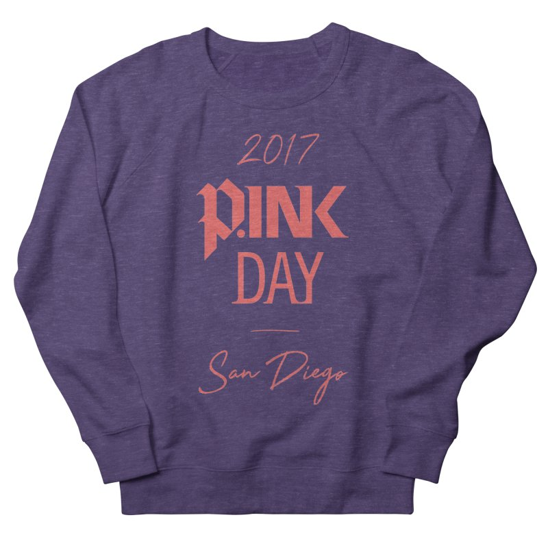 2017 P.ink Day San Diego Men's Sweatshirt by P.INK—don't let breast cancer leave the last mark