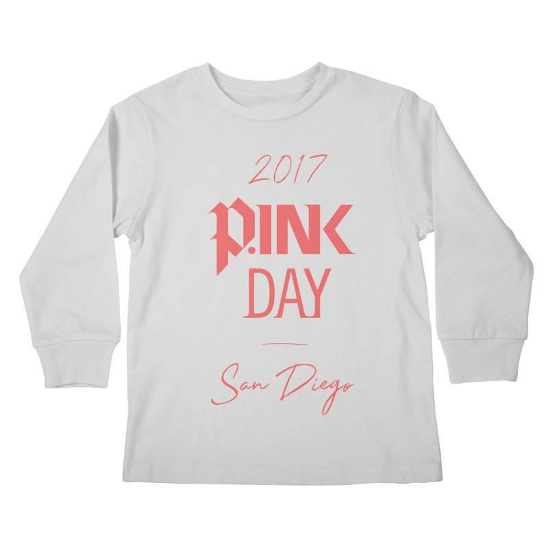 2017 P.ink Day San Diego Kids Longsleeve T-Shirt by P.INK—don't let breast cancer leave the last mark