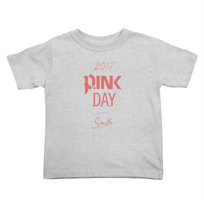 2017 P.ink Day Seattle Kids Toddler T-Shirt by P.INK—don't let breast cancer leave the last mark