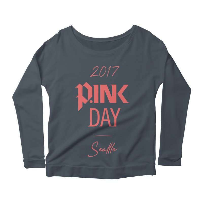 2017 P.ink Day Seattle Women's Longsleeve Scoopneck  by P.INK—don't let breast cancer leave the last mark