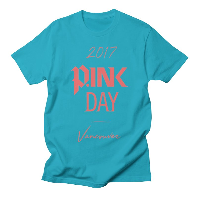 2017 P.ink Day Vancouver Island Men's T-Shirt by P.INK—don't let breast cancer leave the last mark