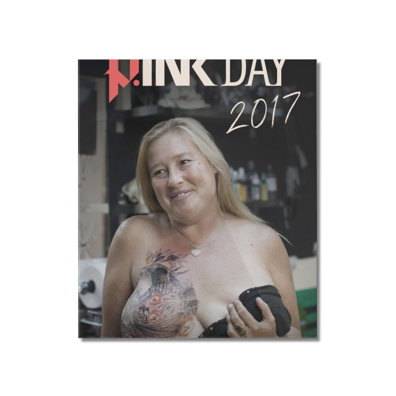 P.ink Day 2017 -- Poster 2/3 Home Mounted Acrylic Print by P.INK—don't let breast cancer leave the last mark