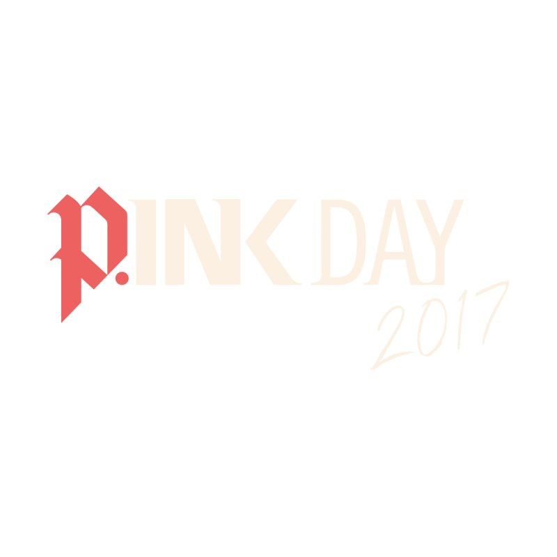 P.ink Day 2017 Logo Gear — Color Mix by P.INK—don't let breast cancer leave the last mark