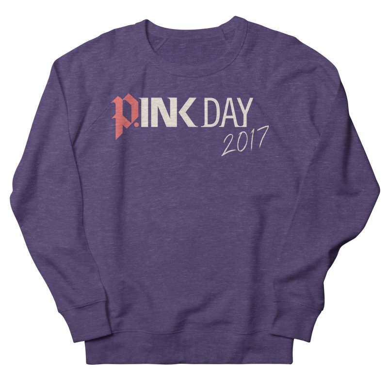 P.ink Day 2017 Logo Gear — Color Mix Men's Sweatshirt by P.INK—don't let breast cancer leave the last mark